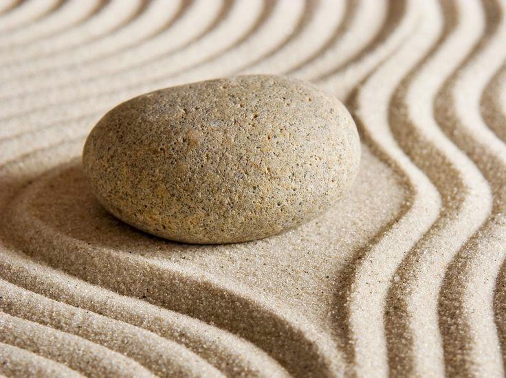 Zen Garden Rock